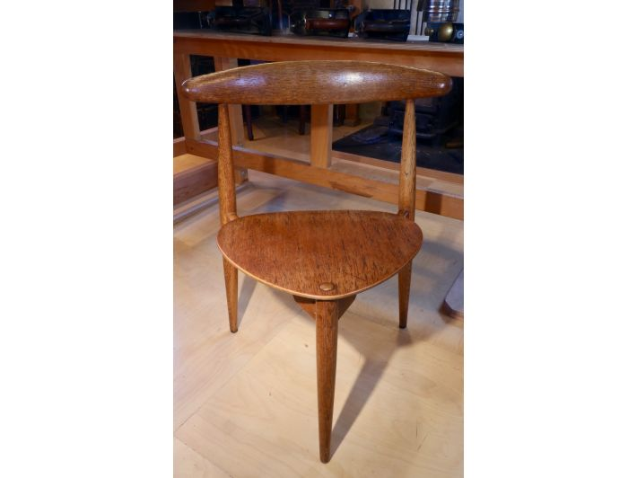 Hans Wegner Tripod Chair after Restoration