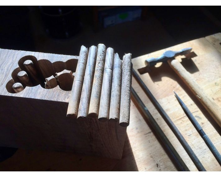 Making walnut dowels