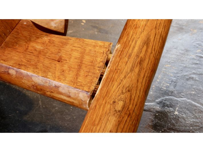 Wegner chair rail joint repair