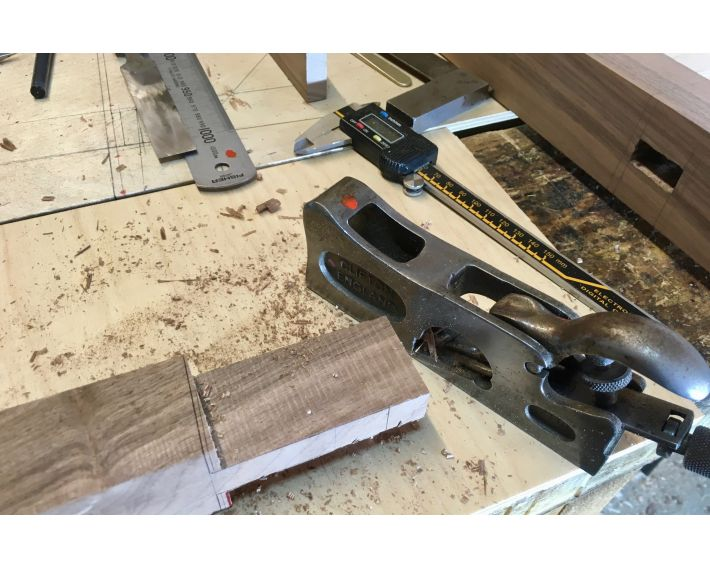 Trusty Clifton plane helps shaping the tenons